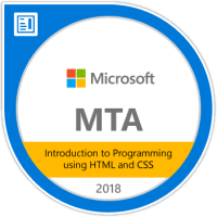 mta-introduction-to-programming-using-html-and-css-certified-2018